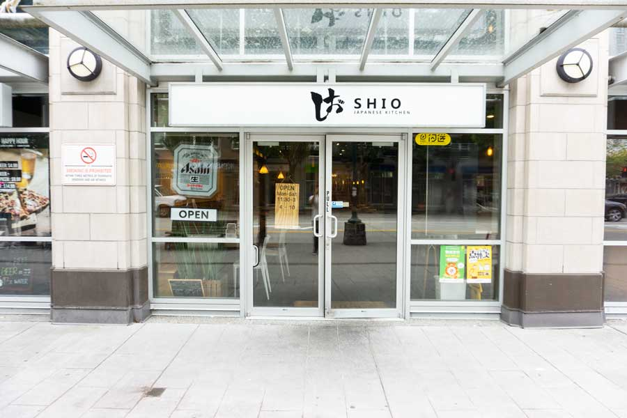 shio japanese coquitlam outside