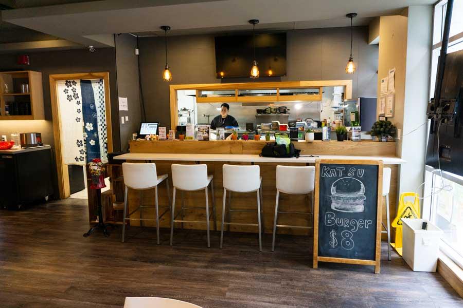 shio coquitlam inside sushi bar